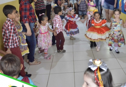 Escolas Municipais Japienses,  realizaram na última semana as comemorações juninas.