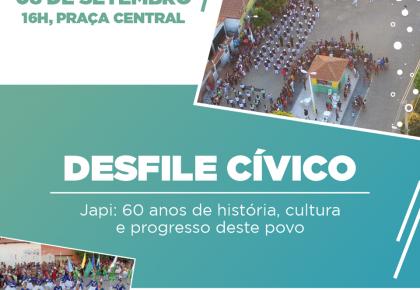 Tema do desfile:  Japi, 60 anos de história, cultura e progresso deste povo.