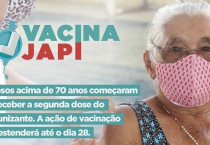 """Inicio da campanha """"VACINA JAPI"""""""