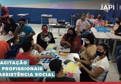 Primeira capacitação para os profissionais da Secretaria de Assistência Social e desenvolvimento habitacional