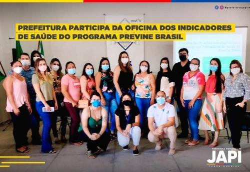 Oficina regional sobre os indicadores de Saúde do Programa Previne Brasil